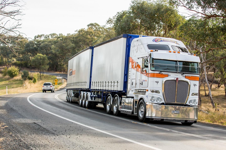 ExTe TU load restraint on highway