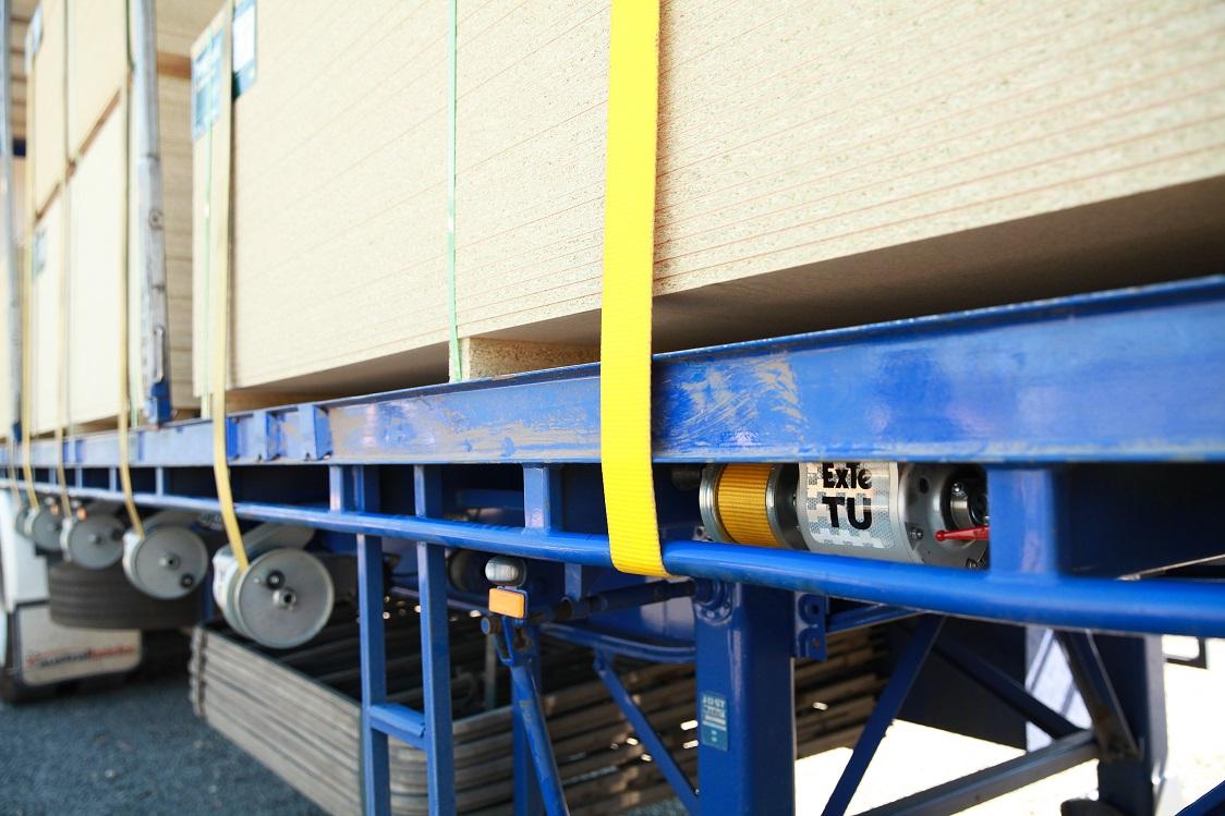 ExTe TU auto-tensioner low profile mounting