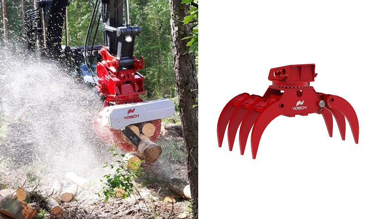 Felling Grapples Amp Grapple Saws Australia Forest Centre