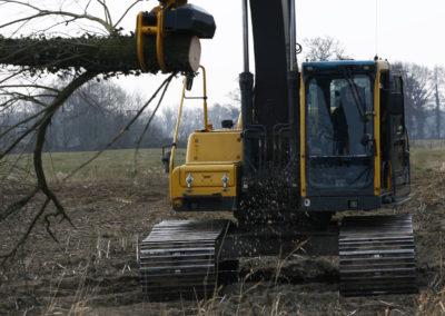 GMT035 excavator mounted