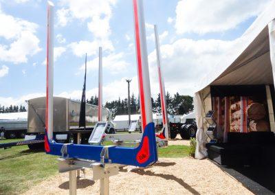 E12 model 12 ton capacity log bolster