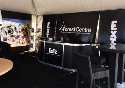 Forest Centre & ExTe marquee
