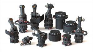 Baltrotors hydraulic rotator range