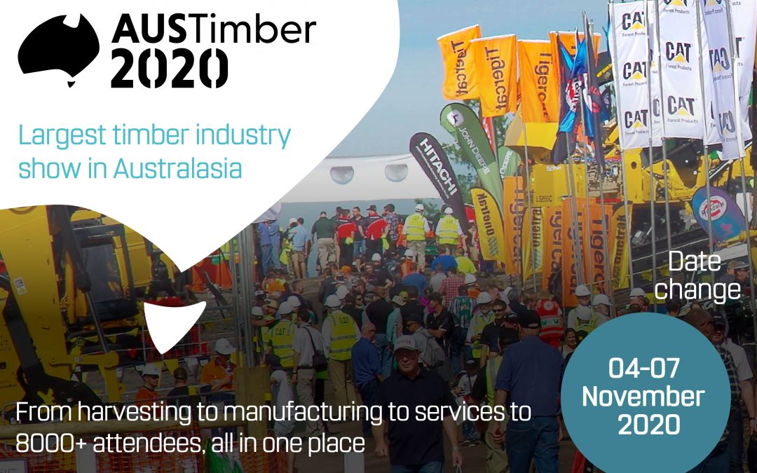 AUSTimber 2020 Expo tickets now on sale